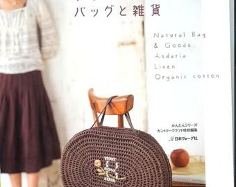 Crochet bags Pdf file Crochet bag pattern Crochet bags Japan ebook Japonese pattern bag Japanese crochet book