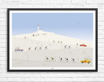 Mount Ventoux Giclee Print