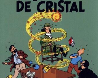 Herge Tintin Crystal Balls French Poster Print