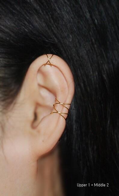 earringscartilage earringsear cuffcriss crossbohofake. Black Bedroom Furniture Sets. Home Design Ideas
