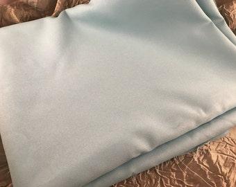 2 2/3 Yards of Vintage Robin Egg Blue Knit Fabric