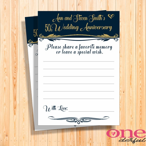 50th anniversary memory cards