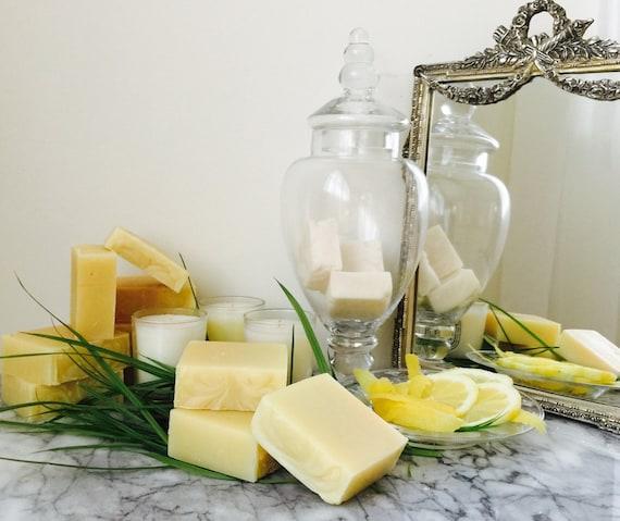 Vegan Avocado Shampoo Bars (Lemongrass Scent)