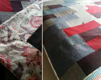 One of a Kind Unique Bespoke Quilt commission stitched just for you