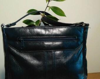 Vintage Navy Gemini bag by Ackery