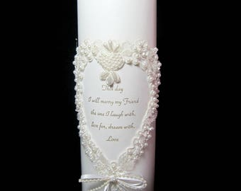 Wedding Unity Candle by Jamie Lynn This Day Accessories Decorations 1996