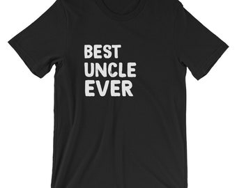 Cool Mens Best Uncle Ever T-shirt