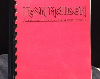 Iron Maiden Original 1988 Tour Itinerary