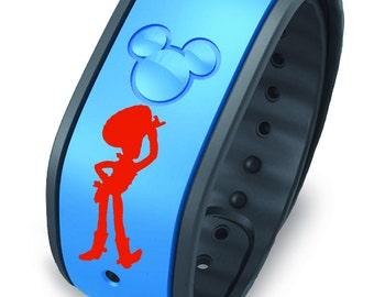 Woody Disney Magic Band Decal