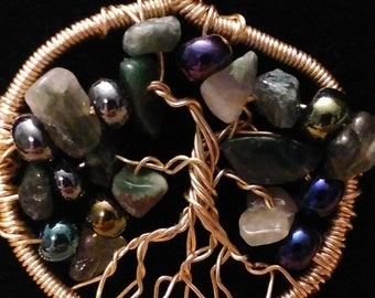 Tree of life necklace 2 kinds