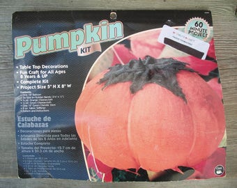 Dritz Orange Gauze Pumpkin Kit