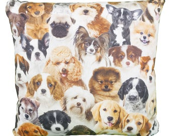 Pillow Square Dog Breed allover