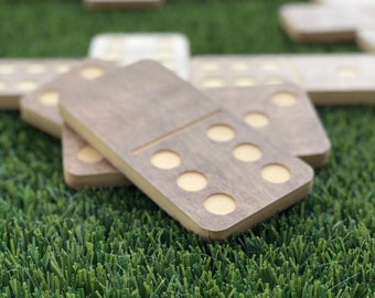 Lawn Dominoes, Large Domino Game Set, Outdoor Games, Lawn Games