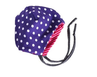 Toddler hat, baby hat, different sizes, Jersey, wear on both sides