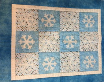 Snowflake wall hanging, or table runner