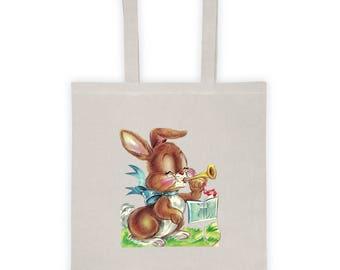 Easter Basket Children Party Favor Candy Bag Lunch Bag Tote Bag Version 5