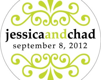 Customized Digital Wedding / Personal Monograms - can be used for stickers, cards, invites, etc. - hundreds of designs to choose from.