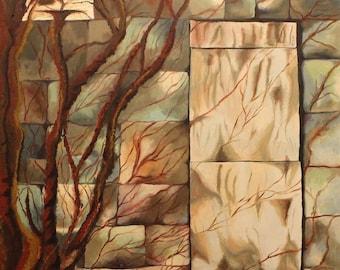 Original painting of Broken Window