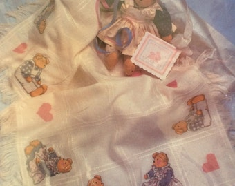 Teddies Baby Afghan Kit