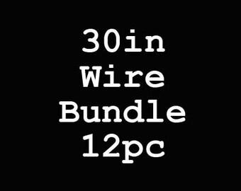 30-Inch Wire Bundle - 12 Piece