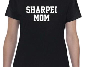 Sharpei Mom Shirt Tshirt Dog