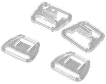 SALE Clear Nursing Clips - 14mm - 1 Set (PM14C-1)