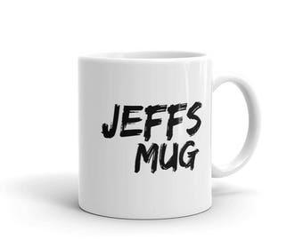 Café et le thé tasse de Jeff