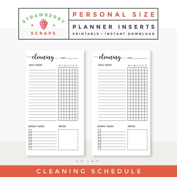 housekeeper checklist template complete housekeeping printable set