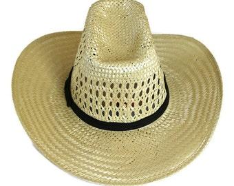 3d635effa8c CLEARANCE 50% Western Hat Bailey Medium Hard Straw You-Rollit Cowboy  Cowgirl Rodeo Dress