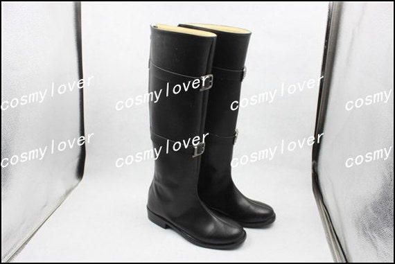 VII Shoes Sephiroth Made Cosplay Custom Fantasy Boots Final UxwqE05nn