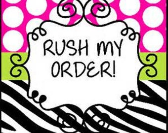 rush my order Express Mail