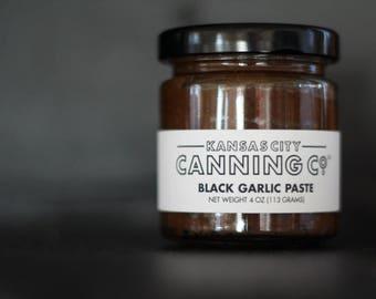 Black Garlic Paste deep fermented umami flavor for cooking