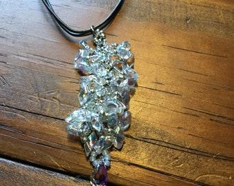 Crystal Divine Vine Necklace