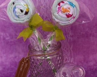 Anis lollipop (lollipop sponge)