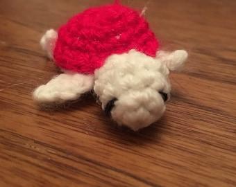 Crochet handmade baby turtle :)