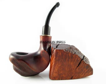 New Wooden Tobacco Smoking Pipe Art Handcrafted Special Designed for Pipe Smokers