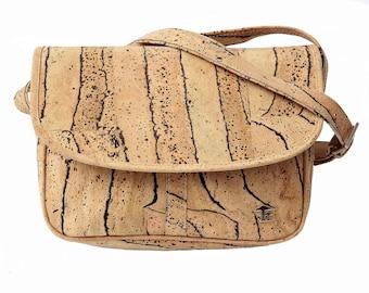 Cork bag, ladies handbag, cork bag, shoulder bag