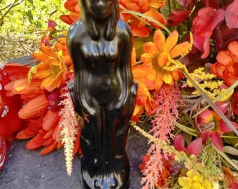 Black Female Figure Candle 'Customize your Hoodoo™' Loaded Candle