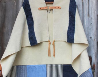 Wool Naval Poncho