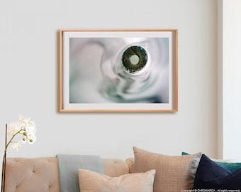 Porrón Print.  Abstract photography, macro, decor, wall art, artwork, large format photo.