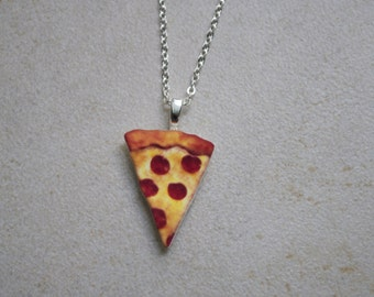 Pizza Necklace/Choker/Keychain