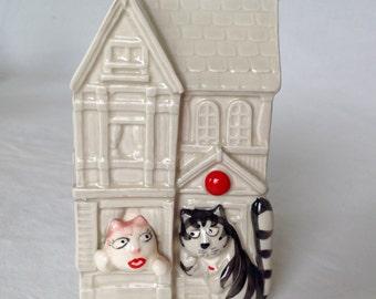 Tom Cat Ceramic Bank Takahashi San Francisco