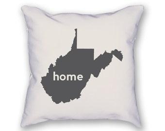 West Virginia Home Pillow