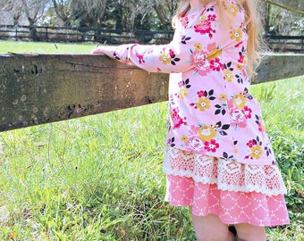 Abby's Road Trip Tunic - PDF sewing pattern