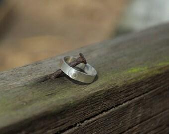 5mm Matt Rivet Ring
