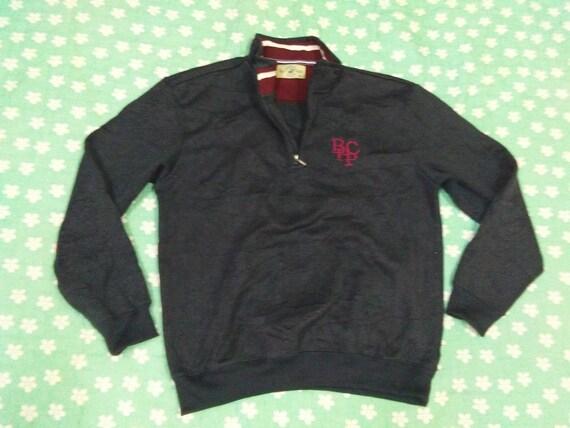 RARE!!! Vintage Beverly Hills Polo Club Full Print Sweatshirt SIze M 6yqMQ