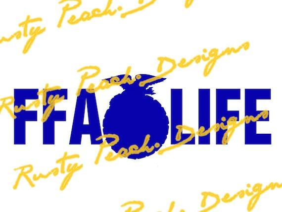 ffa life ffa emblem cutting file download svg png studio rh etsystudio com ffa agricultural education logo vector ffa agricultural education logo vector