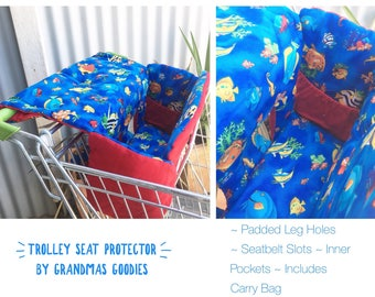 Shopping trolley covers   Padded  comfortable