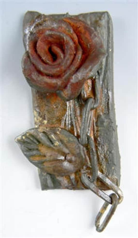 """Swellegant, faux metal patinas kit  """"Rustic Rose""""  for use on polymer clay, metal, plaster, resin, wood, ceramic, and more"""