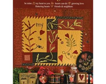SALE!! Here's My Heart by NeedleLove (Jan Goos, Lyn Hosford, Gerry Kimmel-Carr, Lesa Dailey)